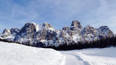 Le più belle escursioni con le ciaspole in Primiero tra le Pale di San Martino